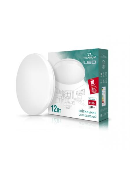 LED світильник настінно-стельовий TITANUM 12W 4100K 220V (TLCL-12HM) Матовий (TLCL-12HM) SMART Світильники світлодіодні - інтернет - магазині Моя Лампа ™