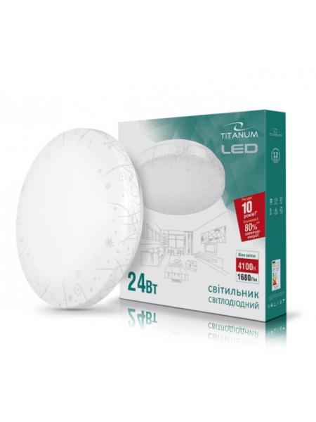 LED світильник настінно-стельовий TITANUM 24W 4100K 220V (TLCL-24GR) Grass (TLCL-24GR) SMART Світильники світлодіодні - інтернет - магазині Моя Лампа ™