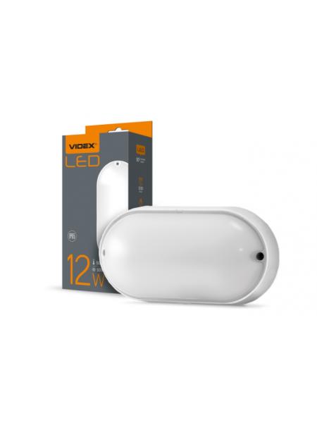 LED світильник VIDEX 12W 5000K 220V (VL-BHО-125РW) (VL-BHO-125PW) Світильники для ЖКГ і промислові - інтернет - магазині Моя Лампа ™