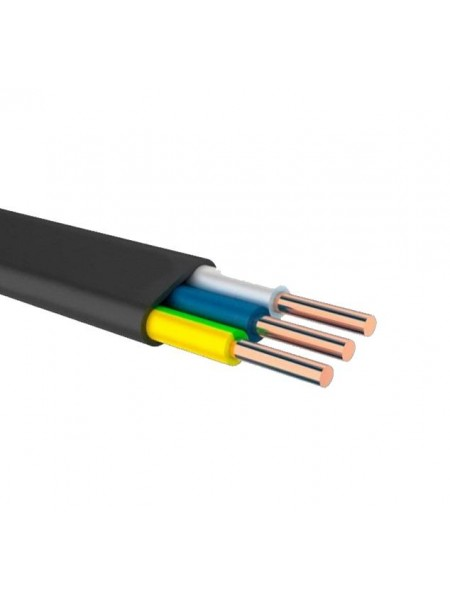 ВВГп 3х1,5 ВЕГА (Одеса) (бухти по 100 м) кабель плоский силовий (2-102) Кабельно-провідникова продукція - інтернет - магазині Моя Лампа ™