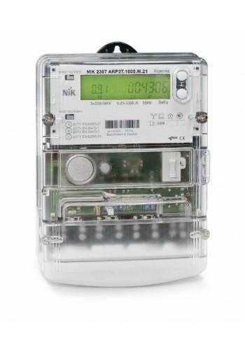 NIK2307 0.5s ARTT.1600.M.24 3х57,7 / 100В - 3х240 / 416В (мультинапруга) електролічильник трифазний електронний багатотарифний, трансформаторного підключення з GPRS-модулем (2307-0.5s-ARTT.1600.M.24) Лічильники електричної енергії - інтернет - магазині Мо