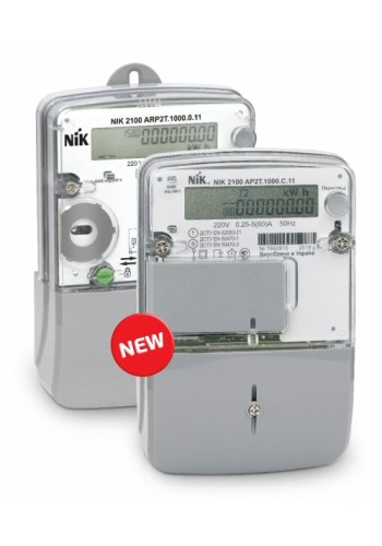 NIK2100 AP2T.1000.C.11 220В 5 (60) (аналог 2102-01.Е2Т), електролічильник однофазний електронний шунтовой багатотарифний - 4 тарифа,  індикація впливу радіо полів (2100-AP2T.1000.C.11) Лічильники електричної енергії - інтернет - магазині Моя Лампа ™