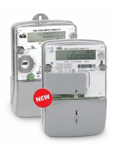 NIK2100 AP2.0000.0.11 220В 5(60) А ЖКИ, электросчетчик однофазный электронный шунтовой