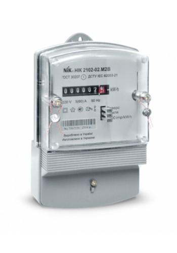 NIK2102-02.М1 220В 5 (60) А електролічильник однофазний електромеханічний (2102-02.М1) Лічильники електричної енергії - інтернет - магазині Моя Лампа ™