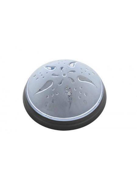 Cветильник пластиковый Уфо Роза Ветров   дым 012010 Teb Elektrik