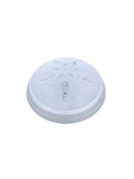 Світильник пластиковий Уфо Роза Вітрів срібло 01201 Teb Elektrik