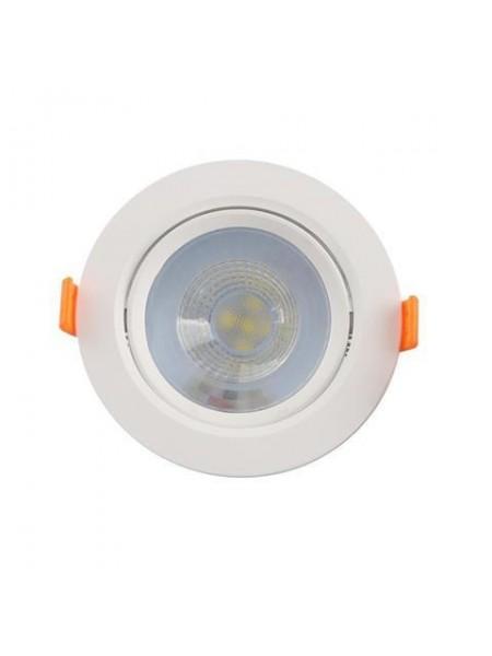 Світильник вбудований поворотний NORA-5 5W 6400K білий 016-053-005-010 Horoz