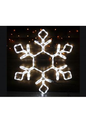 Гірлянда світлодіодна LUMION мотив сніжинка 49,5х42см 230V колір білий IP44 EN (794146477) MOTIF (мативи) - інтернет - магазині Моя Лампа ™
