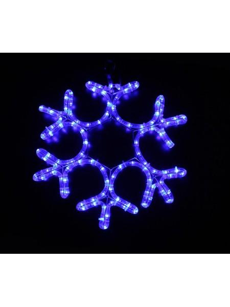 Гірлянда світлодіодна LUMION мотив cнежінка 40х40см 230V колір синій IP44 EN (793141871) MOTIF (мативи) - інтернет - магазині Моя Лампа ™