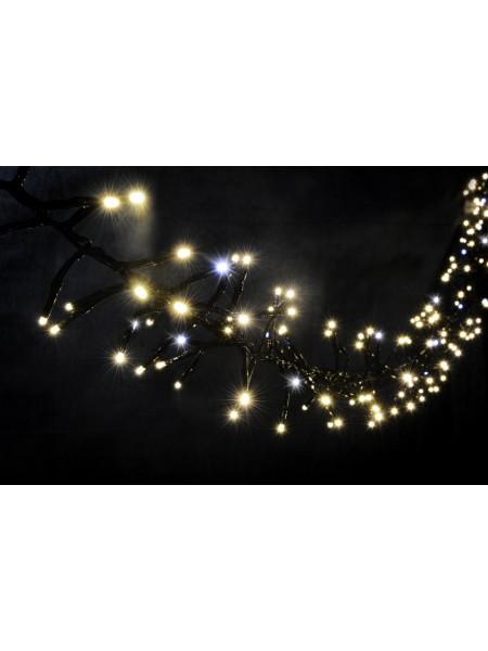 Гірлянда вулична LUMION нитка 240LED 5m 230V колір теплий білий, мерехтить 30 LED IP44 EN (1042163082) Гірлянди - інтернет - магазині Моя Лампа ™