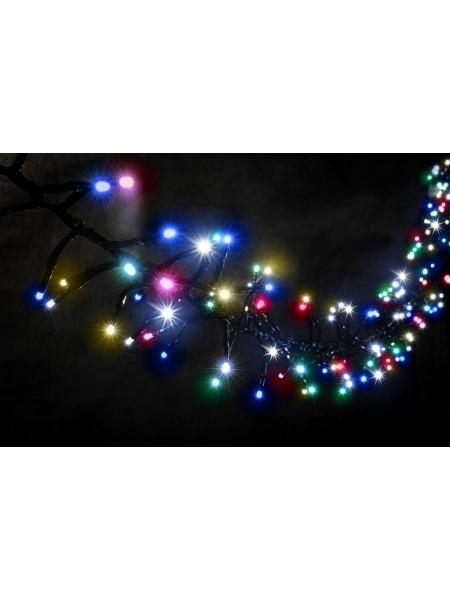 Гірлянда вулична LUMION нитка 240LED 5m 230V мульти колір, мерехтить 30 LED IP44 EN (1042164297) Гірлянди - інтернет - магазині Моя Лампа ™