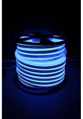 Вуличний світловий шнур Lumion 220V SUPER SMD NEON FLEX 8 * 16мм, 92 світлодіода / м.п., 50м / рул колір синій (1044119295) NEON FLEX/DURALIGHT. IP44. 230V - інтернет - магазині Моя Лампа ™