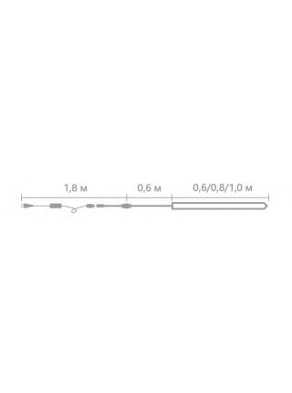 Светодиодное украшение Падающий снег Lumion 30 led 0,6 м наружный цвет белый (793138457) Гирлянды - интернет - магазин Моя Лампа ™