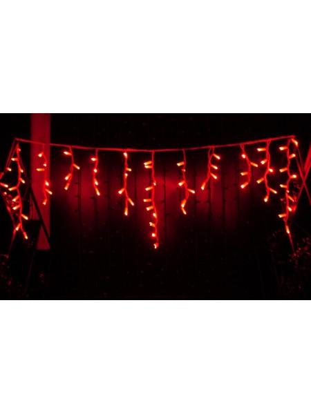 Гірлянда вулична бахрома LUMION 120Led 2x0,9m 230V червоний IP44 EN (1064556768) Гірлянди - інтернет - магазині Моя Лампа ™