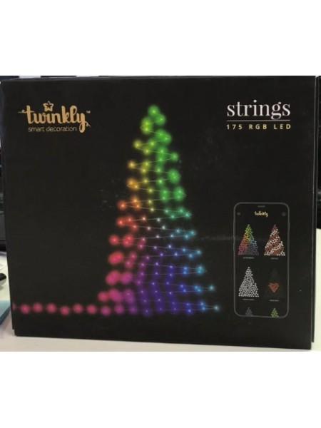 Smart Гирлянда Twinkly Strings 175 RGB LED Wi-Fi