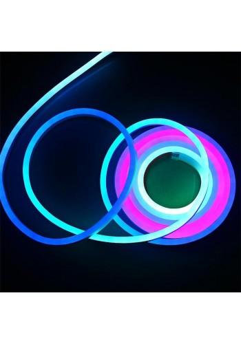 Вуличний світлодіодний шнур Неон-Флекс Lumion Neon-Flex 15х26 мм 68LED / м.п. зовнішній колір RGB (831774192) NEON FLEX/DURALIGHT. IP44. 230V - інтернет - магазині Моя Лампа ™