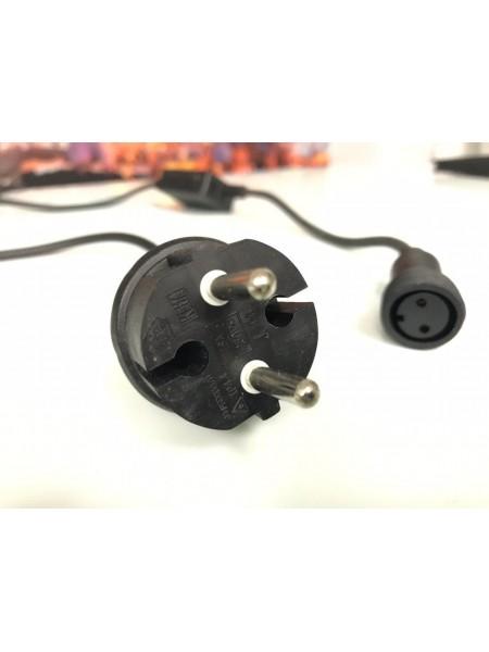 Силовой кабель с конечным соединением AC/DC режим работы гирлянды статика. (1210705663) Гирлянды - интернет - магазин Моя Лампа ™
