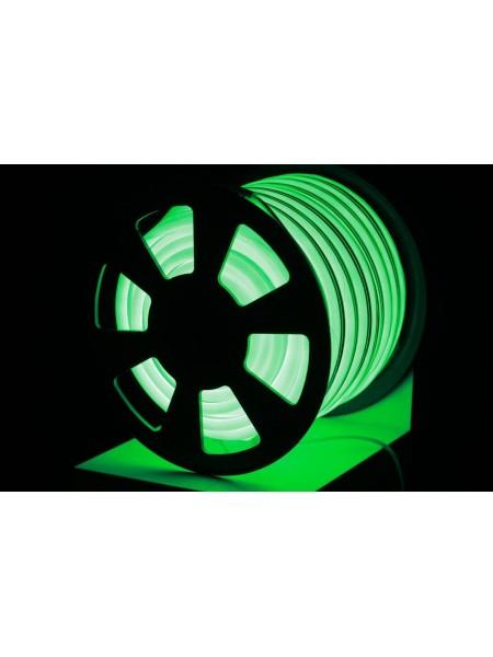 Вуличний світловий шнур Lumion 220V SMD NEON FLEX 15 * 26мм, 81 світлодіода / м.п., 50м / рул колір зелений (1045904033) NEON FLEX/DURALIGHT. IP44. 230V - інтернет - магазині Моя Лампа ™