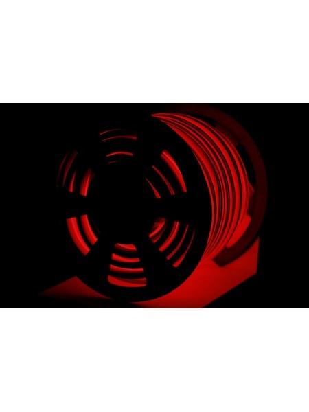 Вуличний світловий шнур Lumion 220V SMD NEON FLEX 15 * 26мм, 81 світлодіода / м.п., 50м / рул колір червоний (1044347554) NEON FLEX/DURALIGHT. IP44. 230V - інтернет - магазині Моя Лампа ™