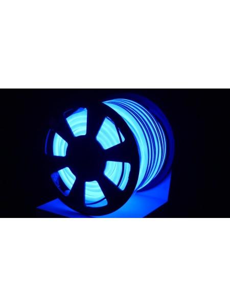 Вуличний світловий шнур Lumion 220V SMD NEON FLEX 15 * 26мм, 81 світлодіода / м.п., 50м / рул колір синій (1045903621) NEON FLEX/DURALIGHT. IP44. 230V - інтернет - магазині Моя Лампа ™
