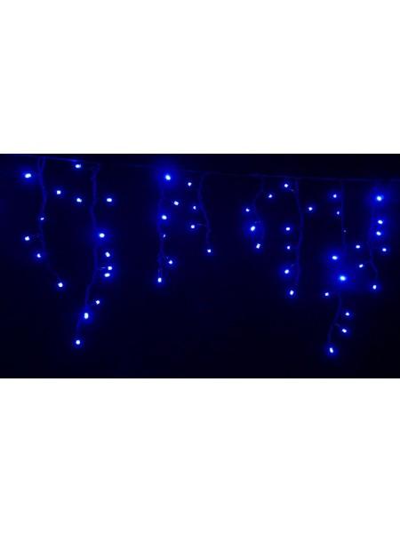 Гірлянда вулична LUMION бахрома 90LED 230V 2x0,5m колір синій / чорний IP44 EN (762267433) Гірлянди - інтернет - магазині Моя Лампа ™