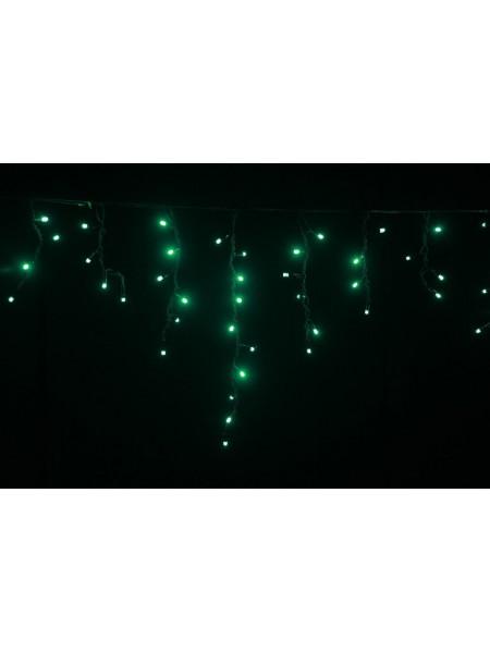 Гірлянда вулична LUMION бахрома 90LED 230V 2x0,5m колір зелений / чорний IP44 EN (762267432) Гірлянди - інтернет - магазині Моя Лампа ™