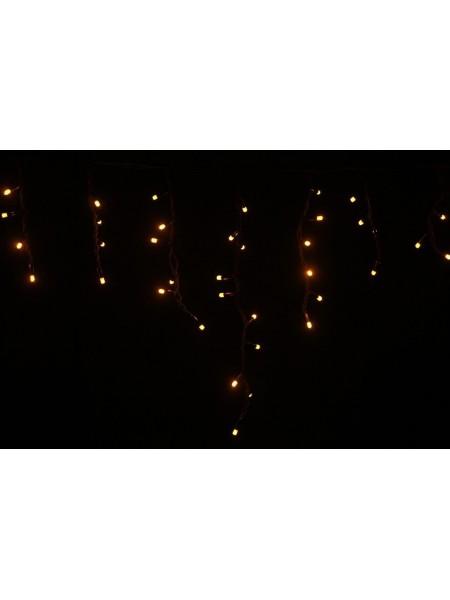 Гірлянда вулична LUMION бахрома 120LED 230V 2x0,9m колір жовтий / чорний, IP44 EN (762267418) Гірлянди - інтернет - магазині Моя Лампа ™