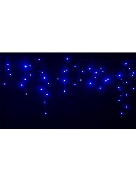 Гірлянда вулична LUMION бахрома 120LED 230V 2x0,9m колір синій / чорний, IP44 EN (762267420) Гірлянди - інтернет - магазині Моя Лампа ™