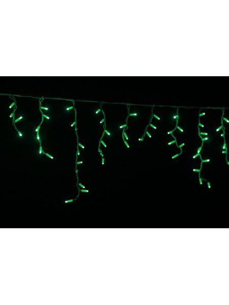 Гірлянда вулична бахрома LUMION 90Led 2x0,5m 230V зелений IP44 EN (1064549125) Гірлянди - інтернет - магазині Моя Лампа ™