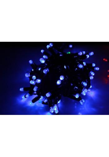Гірлянда вулична LUMION нитка 200LED 10m 230V колір синій / білий, мерехтить 20 LED IP44 EN