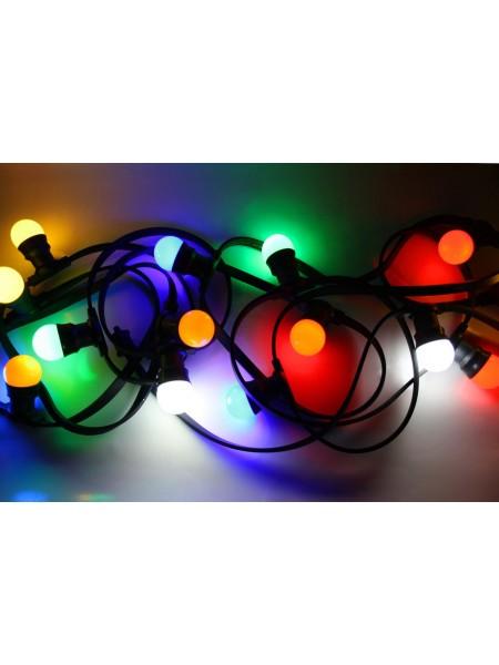 Вулична світлодіодна гірлянда Lumion Belt Light String (Белт лайт стринг) 50 м 125 ламп зовнішня колір складальної (1042181042) Гірлянди - інтернет - магазині Моя Лампа ™