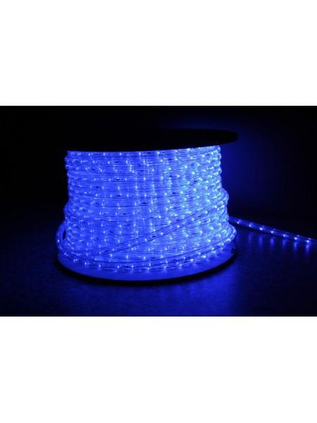 Уличный светодиодная лента Lumion Led Duralight 2-х жильная 240V. d=10мм. 2.77см 36диодив/м.100м/Цвет синий