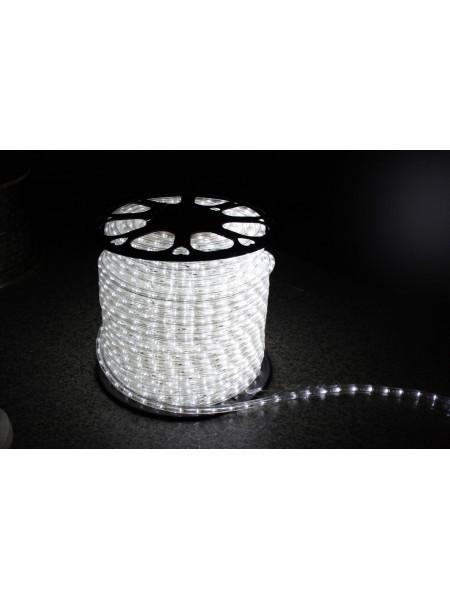 Уличный светодиодная лента Lumion Led Duralight 2-х жильная 240V. d=10мм. 2.77см 36диодив/м.100м/Цвет белый