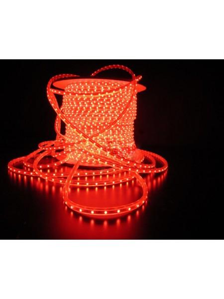 Уличный плоский светодиодный шнур Lumion Led Duralight 6*15 мм 60 LED/м.п. наружный цвет красный (1046307762) Гирлянды - интернет - магазин Моя Лампа ™