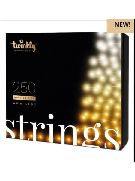Smart Гірлянда Twinkly Strings 250 LEDs Gold Edition (1116628235) SMART ГИРЛЯНДА TWINKLY - інтернет - магазині Моя Лампа ™