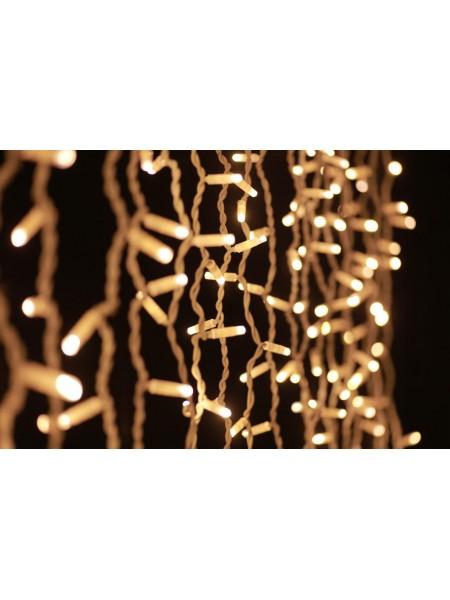 Гірлянда вулична LUMION штора 456Led 2x1,5m 230V білий теплий / біла IP44 EN (1194500997) Гірлянди - інтернет - магазині Моя Лампа ™