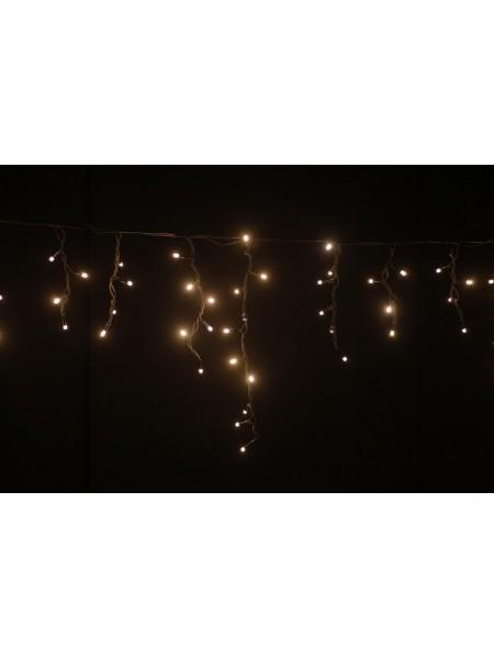Гирлянда уличная LUMION бахрома 90LED 230V 2x0,5m цвет белый теплый/черный IP44 EN (762267430) Гирлянды - интернет - магазин Моя Лампа ™