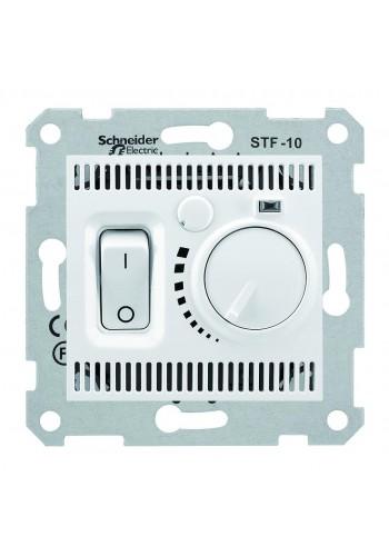 Комнатный термостат 10 A -230 В  Sedna SDN6000121 белый (SDN6000121) Розетки и выключатели - интернет - магазин Моя Лампа ™
