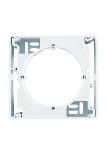 Коробка для наружного монтажа, одиночная  Sedna SDN6100121 белый (SDN6100121) Розетки и выключатели - интернет - магазин Моя Лампа ™