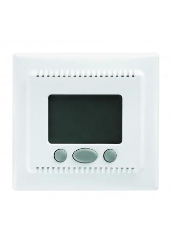 Комнатный термостат 16 A - 230 V AC, с функцией комфорта  Sedna SDN6000221 белый (SDN6000221) Розетки и выключатели - интернет - магазин Моя Лампа ™