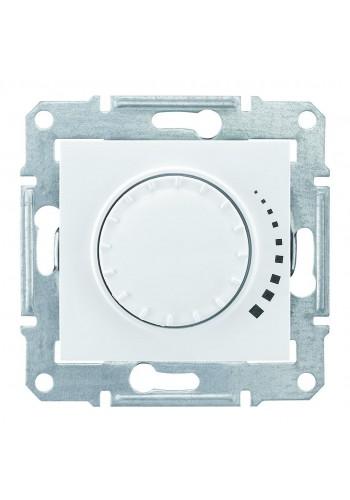 Светорегулятор поворотно-нажимной индуктивный, 230 В, 60-325 Вт/ВА, проходной  Sedna SDN2200521 белый (SDN2200521) Розетки и выключатели - интернет - магазин Моя Лампа ™