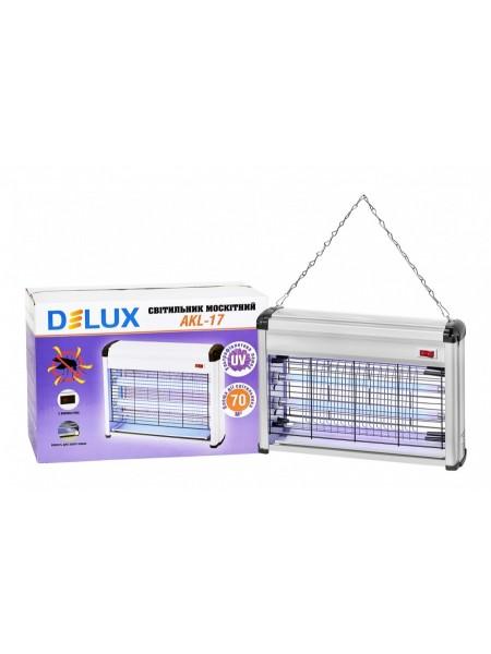 DELUX AKL-17 2*8Вт ловушка для насекомых 70 м2 IP 20 - (90011592) (90011592) Уничтожители насекомых - интернет - магазин Моя Лампа ™