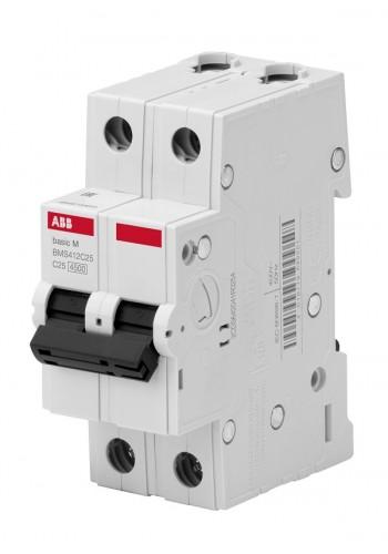 Автоматический выключатель BASIC M, 2Р, 20А, Х-КА 'С' BMS412C20 (2CDS642041R0204) Автоматические выключатели - интернет - магазин Моя Лампа ™