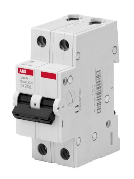 Автоматичний вимикач BASIC M, 2Р, 20А, Х-КА 'С' BMS412C20