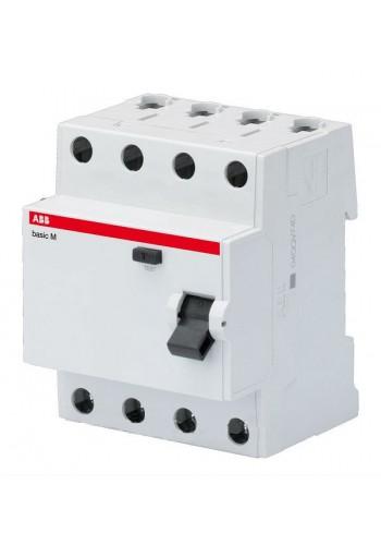 Дифференциальный выключатель (УЗО) BASIC M, 4Р 300мА 63А ТИП 'АС' BMF43463 (2CSF604043R3630) Автоматические выключатели - интернет - магазин Моя Лампа ™