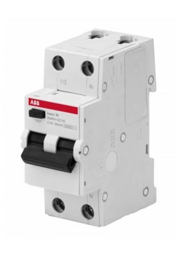 Дифференциальный автоматический выключатель BASIC M, 1Р+N/20А/30мА/ТИП 'АС' BMR515C20 (2CSR645041R1204) Автоматические выключатели - интернет - магазин Моя Лампа ™