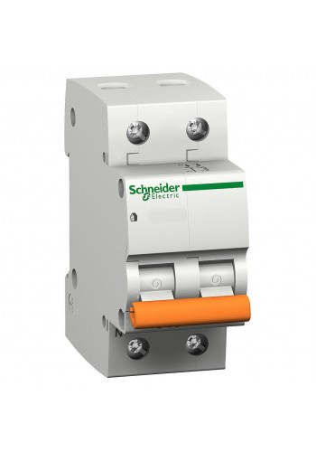 Автоматический выключатель 1P+N 20A (C) 4.5kA SE Домовой ВА63 11214 (11214) Автоматические выключатели - интернет - магазин Моя Лампа ™