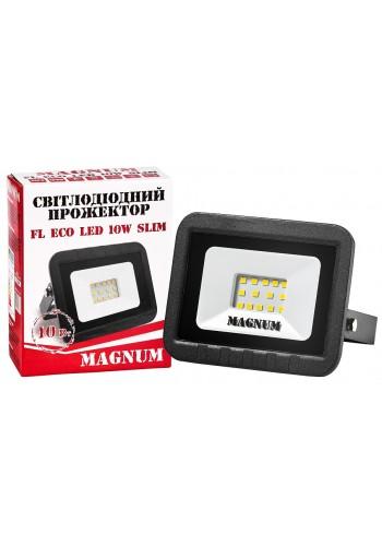 світлодіодний прожектор MAGNUM FL ECO LED 10Вт slim_6500К_IP65 - (90011658) (90011658) LED Прожектори - інтернет - магазині Моя Лампа ™