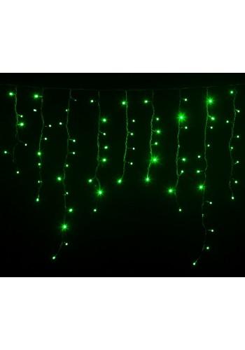 гирлянда внеш DELUX ICICLE 108LED 2x1m 27flash зел/чор IP44 - (90012943) (90012943) Гирлянды - интернет - магазин Моя Лампа ™