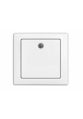 выключатель WEGA 9121 1-клавишный с подсветкой белый - (10040338) (10040338) Товары снятые с производства - интернет - магазин Моя Лампа ™